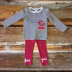 Carter's Toddler Girls 2pc. Outfit
